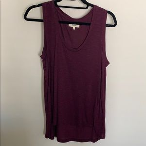 Madewell Anthem Scoop Neck Tank Top